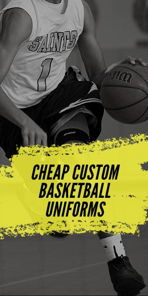custom design basketball uniforms